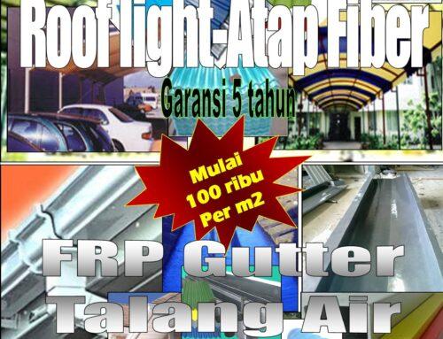 FRP Rooflight, Gutter & Lining