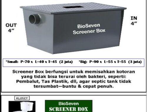 BioSeven Screener box